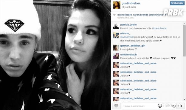 Justin Bieber et Selena Gomez : 1,9 millions de likes pour leur photo postée en août 2014