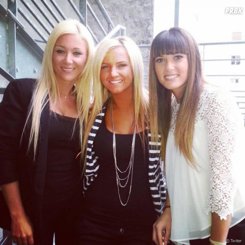 Brenda (Friends Trip) avec Julie (Secret Story 8) et Cpucine Anav du Mag