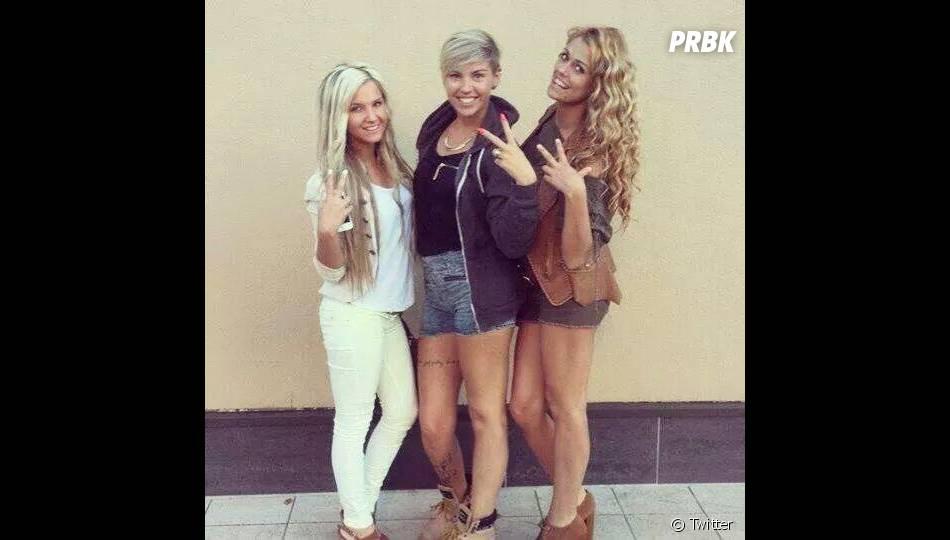 Brenda (Friends Trip) avec sa Team Blonde