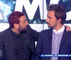 Bertrand Chameroy et Gilles Verdez hypnotisés dans Touche pas à mon poste, le 4 décembre 2014