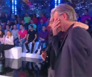 Gilles Verdez en larmes dans Touche pas à mon poste, le 4 décembre 2014