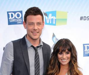Lea Michele et Cory Monteith en couple avant la mort de l'acteur