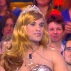 Malik Bentalha déguisé en Miss France délirante dans TPMP