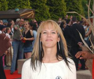 Lorie à l'avant-premère de la comédie musicale Le Roi Lion, à Disney, en 2004