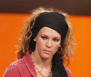 Lorie pendant le Téléthon, en 2004