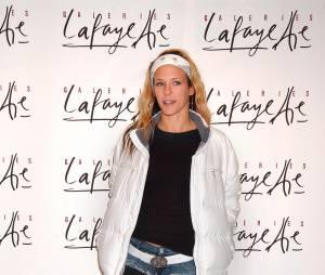 Lorie aux Galeries Lafayette, en 2005