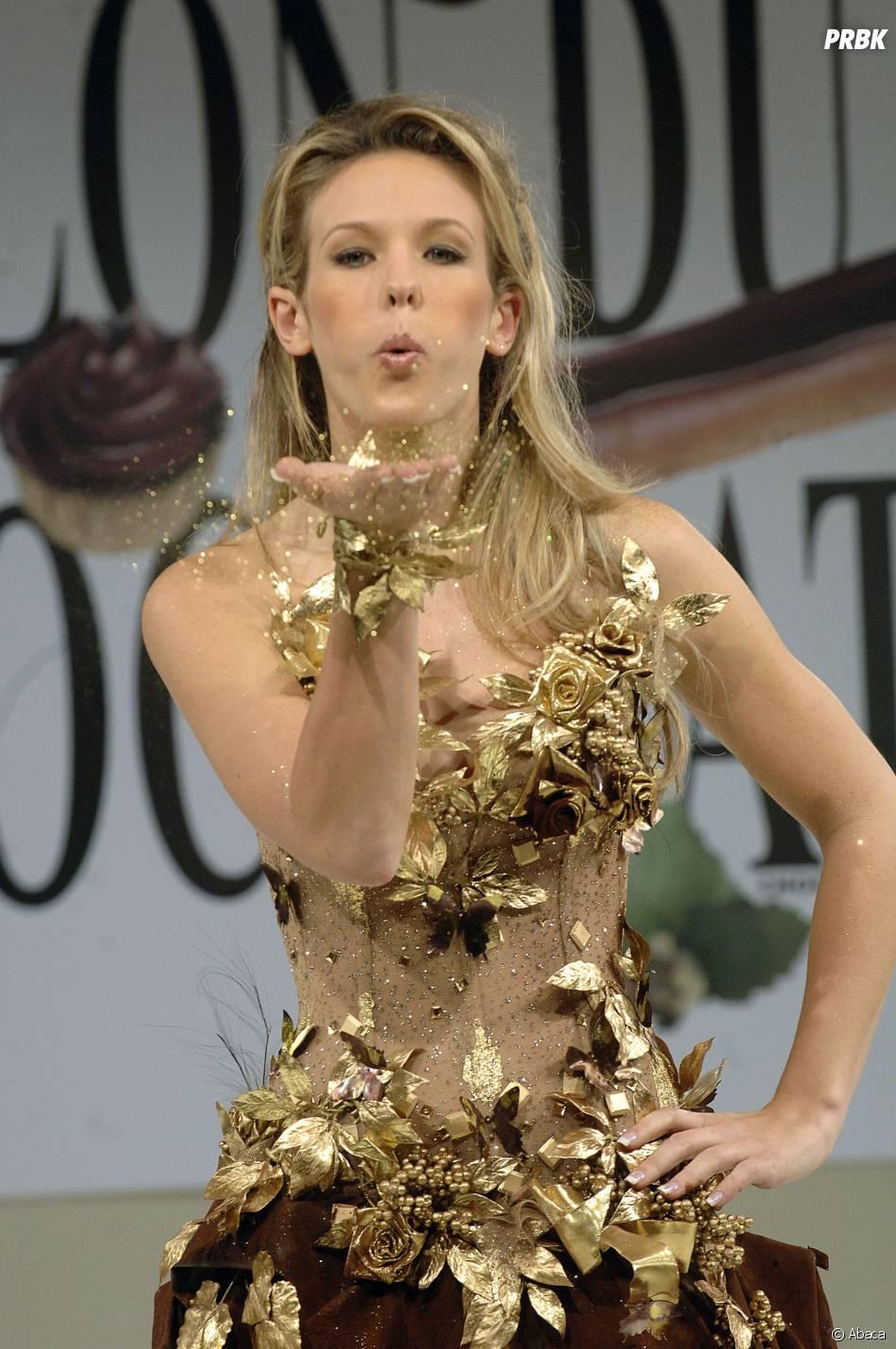 Lorie : défilé au Salon du chocolat, en 2006