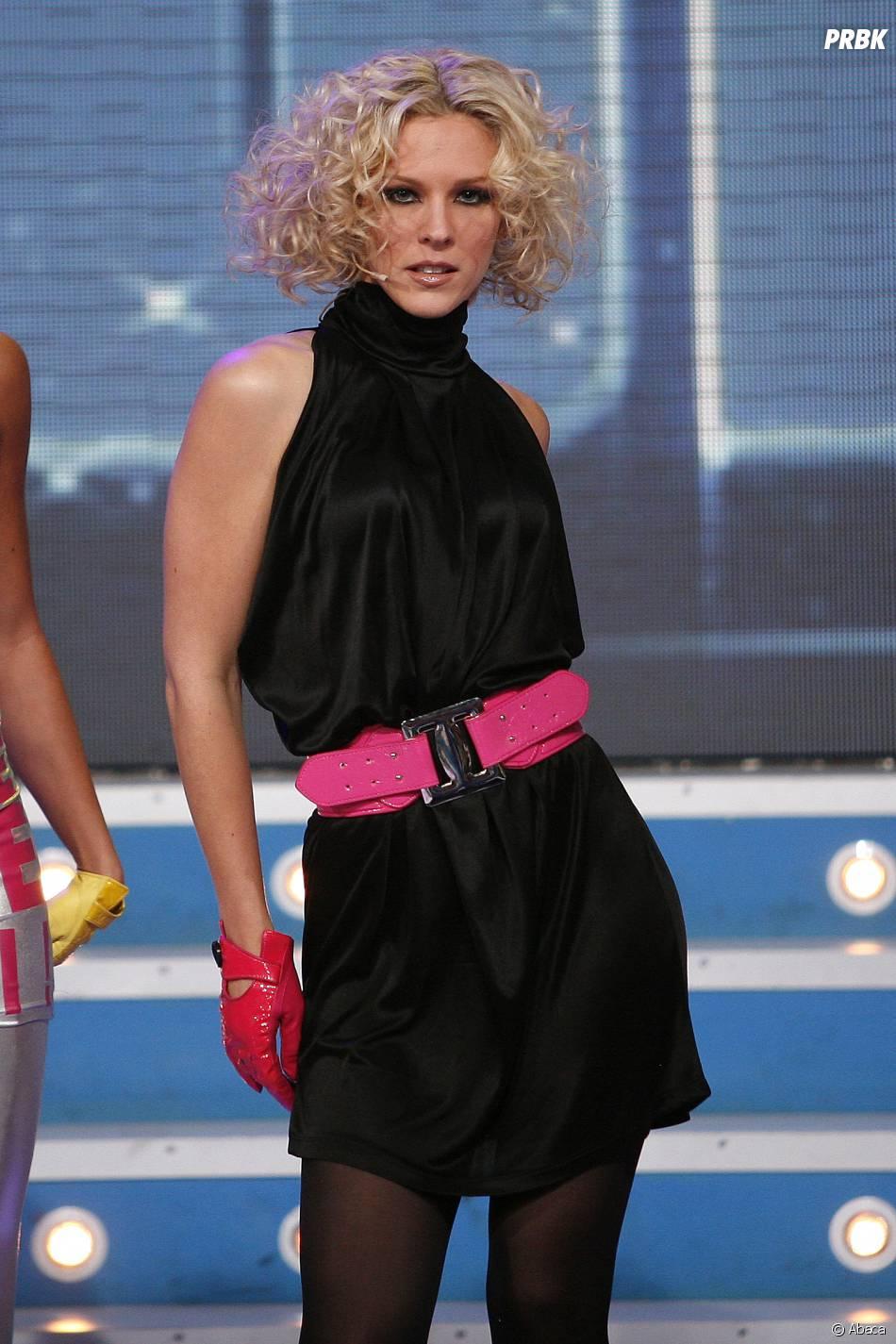 Lorie à l'enregistrement d'un show télé, en 2008