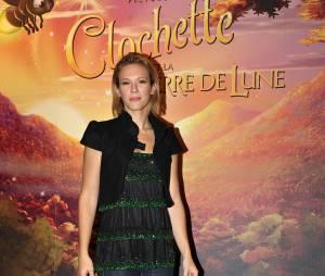 Lorie à l'avant-première de Clochette, en 2009