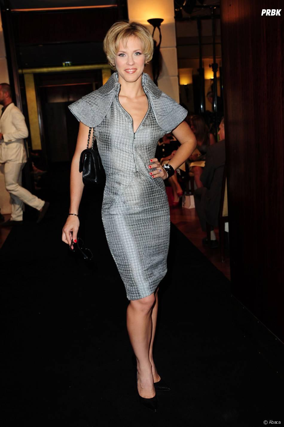 Lorie pendant un défilé de haute-couture en juillet 2011