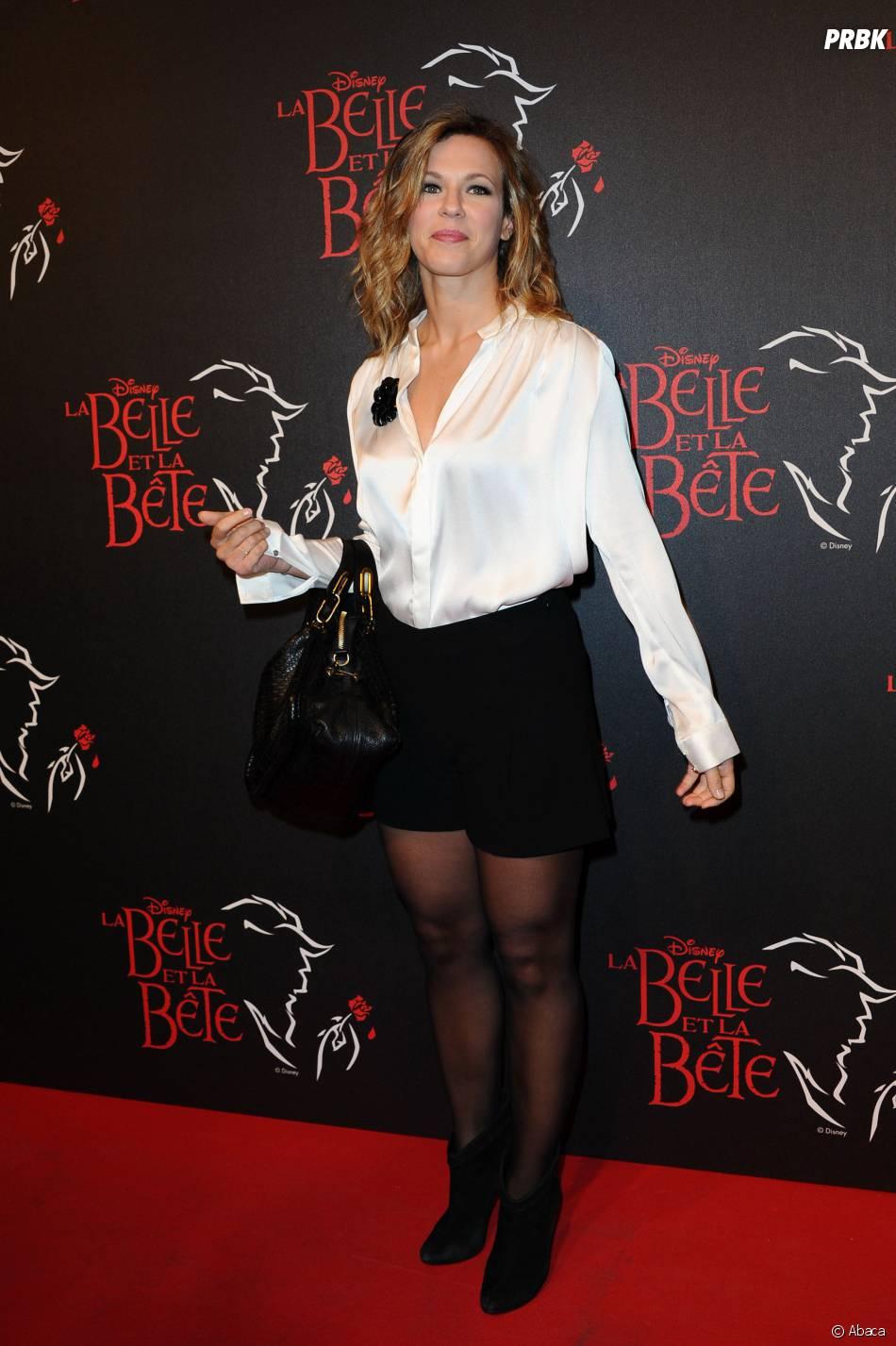 Lorie à l'avant-première de la comédie musicale La Belle et la bête, à Paris, en octobre 2013