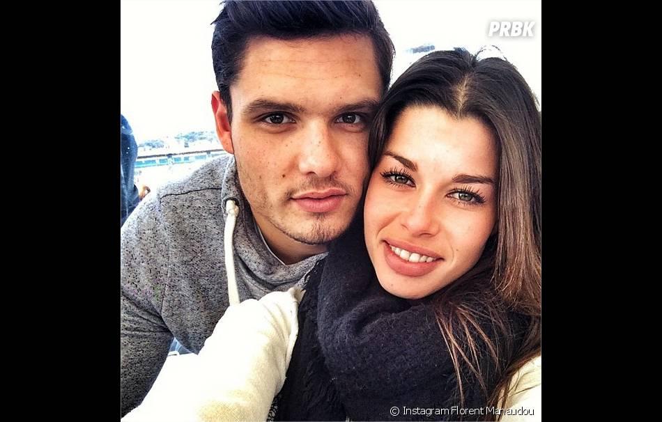 Florent Manaudou et sa petite-amie Fanny Skalli sur Instagram