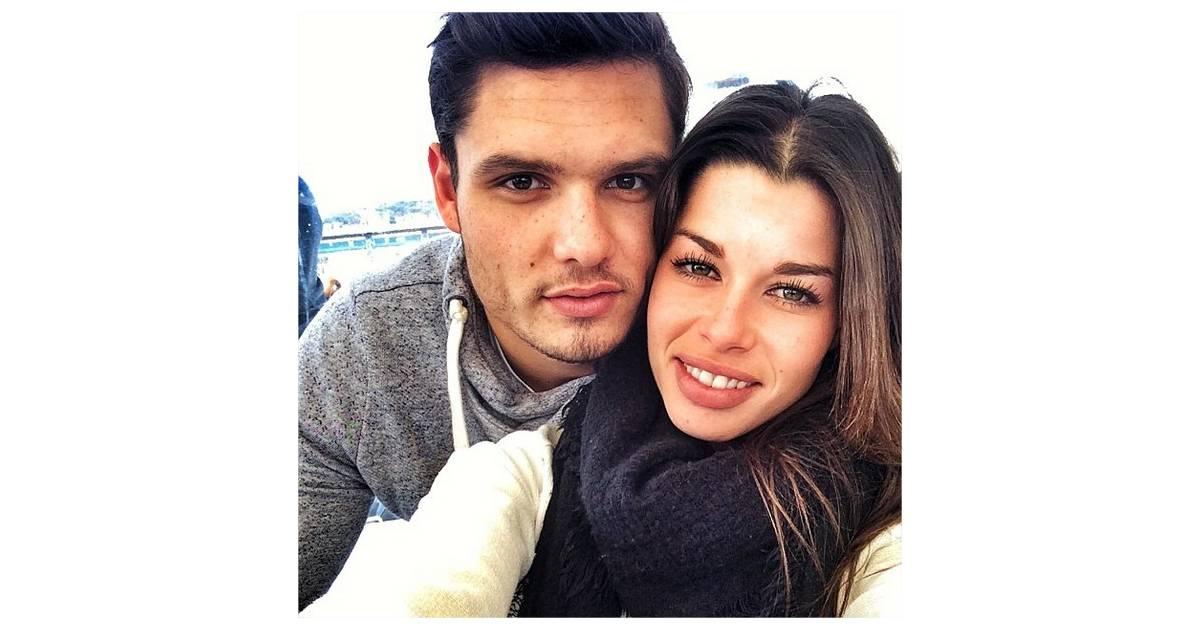 Florent manaudou et sa petite amie fanny skalli sur for Copine jean dujardin