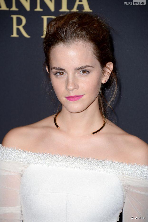 Emma Watson sur le tapis rouge des Britannia Awards à Los Angeles, le 30 octobre 2014