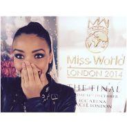 Flora Coquerel soutenue par Camille Cerf avant Miss Monde 2014