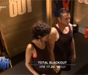 Norbert Tarayre et sa femme Amandine dans Total Black Out sur W9