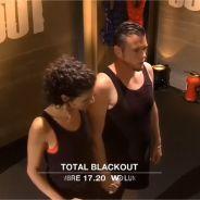 Norbert Tarayre et sa femme Amandine : frayeur et bisou dans le noir pour Total Black Out