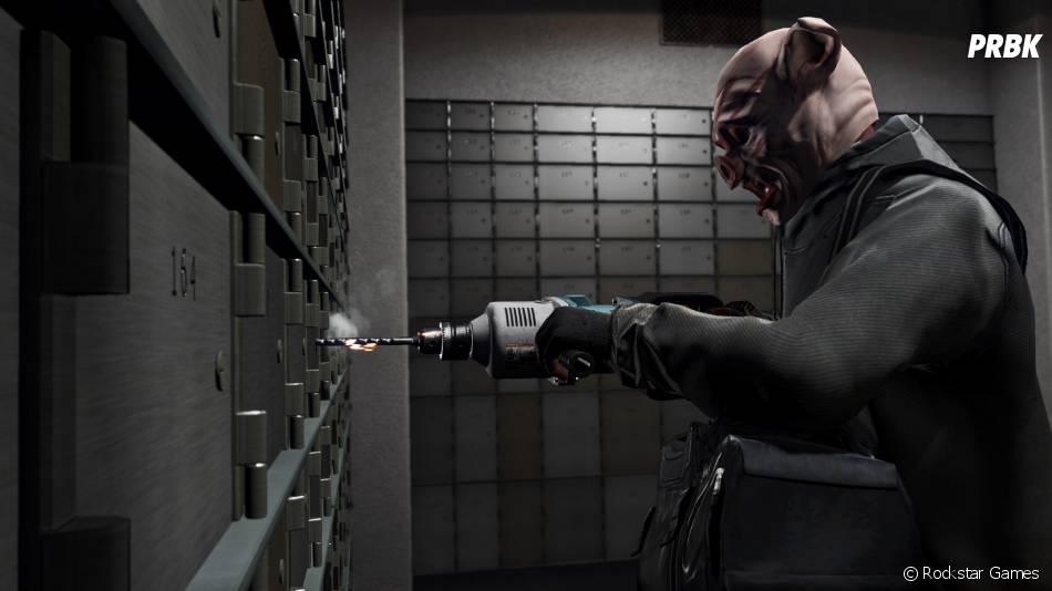 GTA Online : le mode braquage prévu pour début 2015