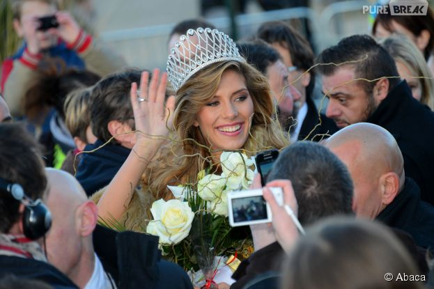 Camille Cerf (Miss France 2015) de retour dans sa ville le samedi 20 décembre 2014