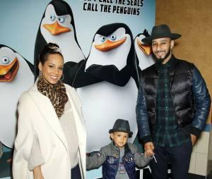 Alicia Keys maman : la chanteuse a accouché de son 2e enfant avec Swizz Beatz (ici avec leur fils Egypt)