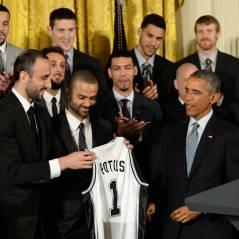 """Tony Parker et les Spurs honorés par Barack Obama : """"Difficile de ne pas les aimer"""""""