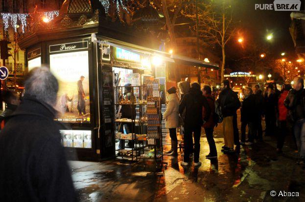 Charlie Hebdo : les kiosques pris d'assaut le 14 janvier 2015