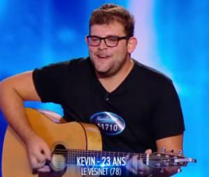 Kevin (Nouvelle Star 2015) soutenu par... Richard Gasquet