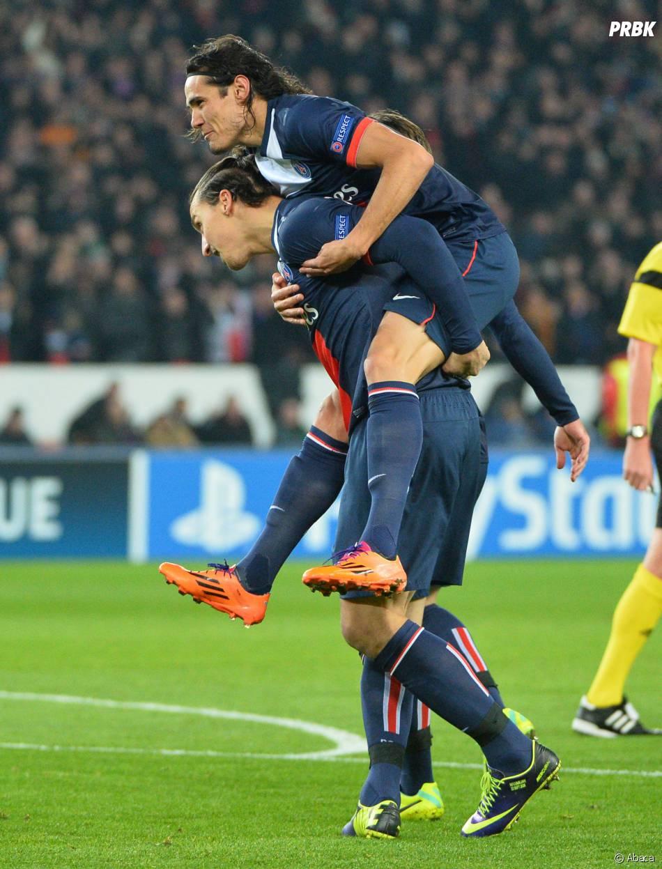 Zlatan Ibrahimovic et Edinson Cavani : mauvaise ambiance entre les deux attaquants ?