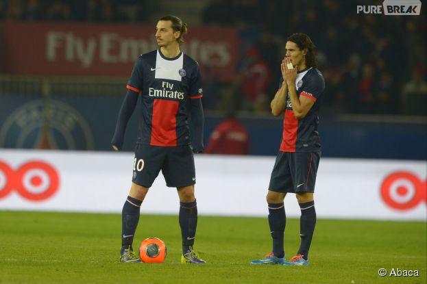 Zlatan Ibrahimovic et Edinson Cavani : tensions au PSG ?