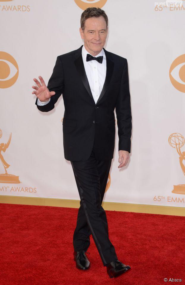 Bryan Cranston lors de la cérémonie des Emmy Awards 2013