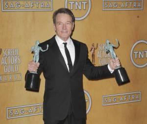 Bryan Cranston durant la cérémonie des Screen Actors Guild Awards
