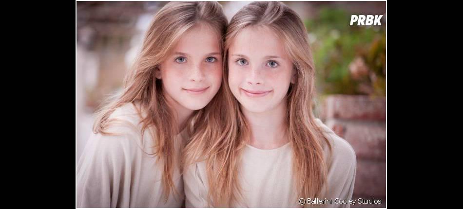 Noelle et Cali Sheldon, 13 ans, interprétaient Emma dans Friends