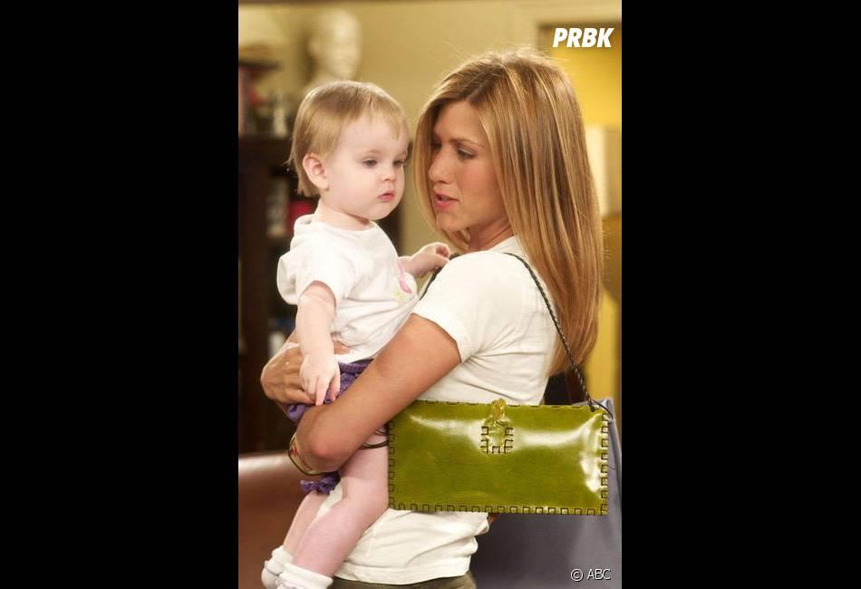 Friends : Rachel et son bébé Emma