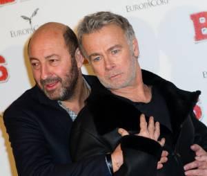Franck Dubosc et Kad Merad à l'avant-première de Bis, le 10 février 2015 à Paris