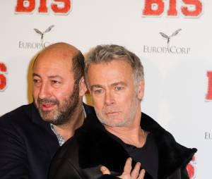 Kad Merad et Franck Dubosc à l'avant-première de Bis, le 10 février 2015 à Paris