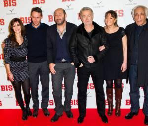 Kad Merad, Franck Dubosc ou encore Gérard Darmon l'avant-première de Bis, le 10 février 2015 à Paris