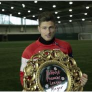 Olivier Giroud élu joueur le plus sexy : une vidéo délirante pour fêter son titre