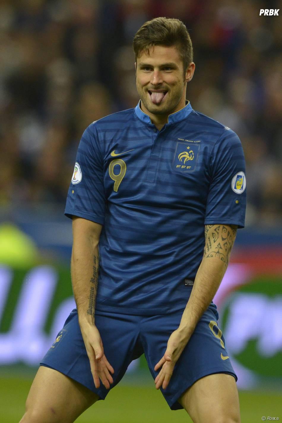 Olivier Giroud élu joueur le plus sexy de Premier League en 2015