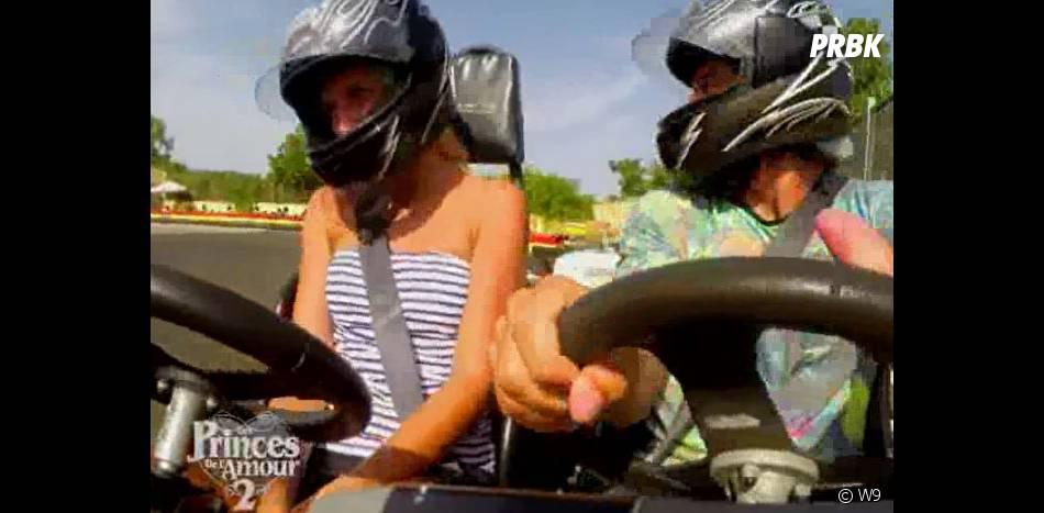 Les Princes de l'amour 2 : Benjamin et Kim se réconcilient grâce au karting dans l'épisode 69 diffusé le 12 février 2015, sur W9