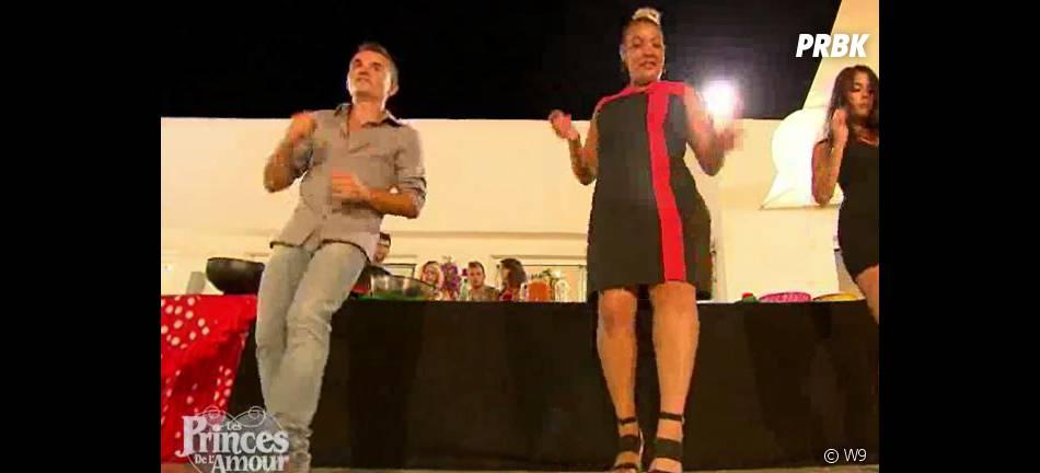 Les Princes de l'amour 2 : Sébastien danse au côté de Camilla dans l'épisode 69 diffusé le 12 février 2015, sur W9