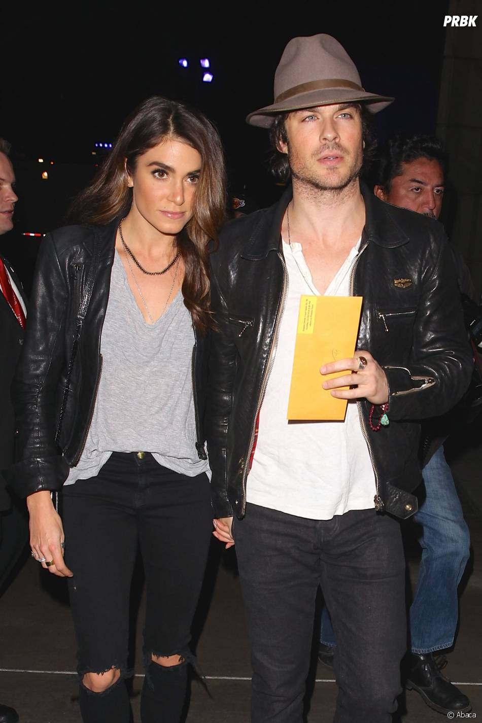 Ian Somerhalder et sa petite amie Nikki Reed main dans la main à L.A