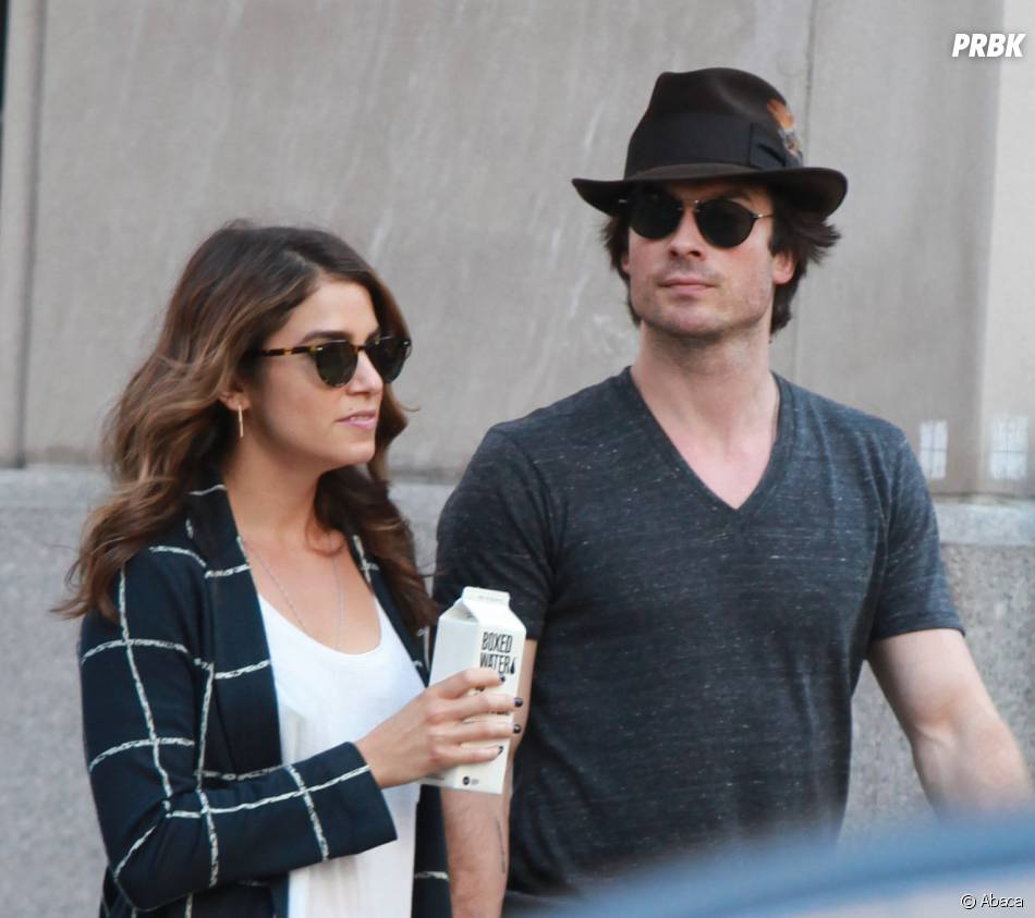Ian Somerhalder et Nikki Reed : balade en couple, le 24 août 2014 à Los Angeles