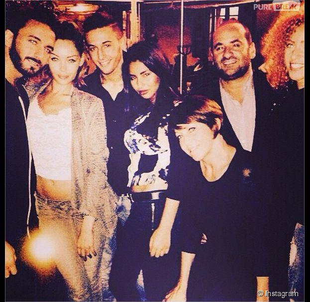 Nabilla Benattia, Thomas Vergara, Tarek Benattia et sa petite-amie... : Marie-Luce, la maman de Nabilla, poste une photo de famille sur Instagram