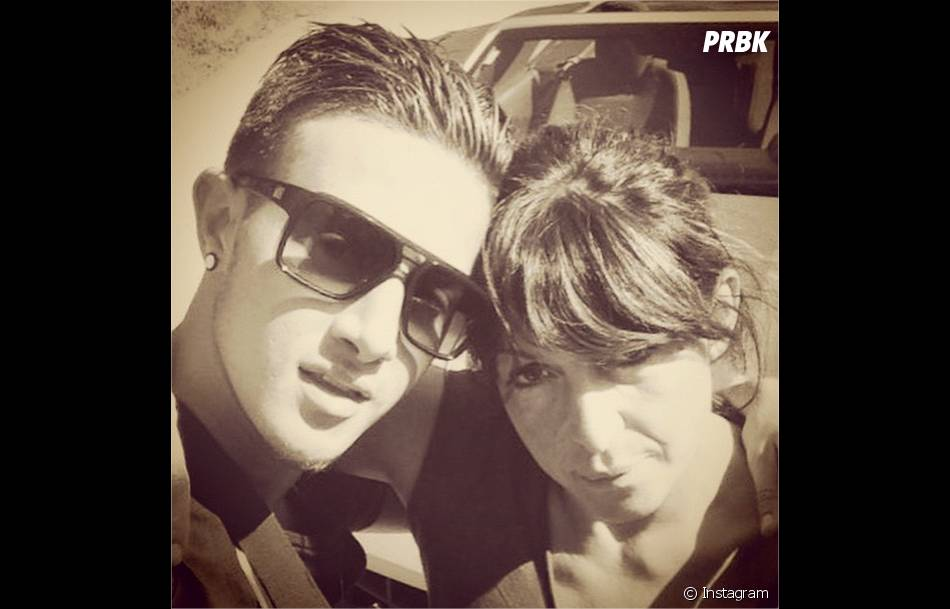 Tarek Benattia et sa maman Marie-Luce sur Instagram