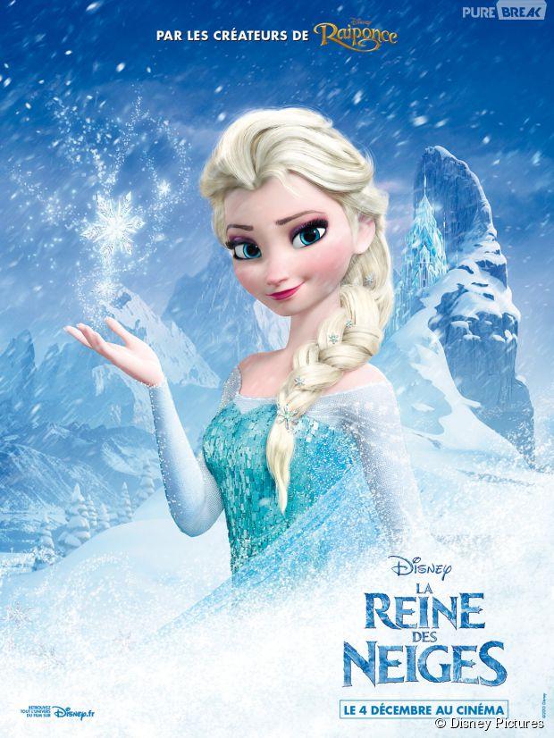 La Reine Des Neiges La Princesse Elsa Recherchée Par La