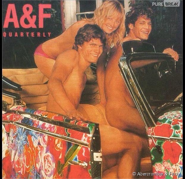 Jamie Dornan complètement nu pour un shooting signé Bruce Webber pour Abercrombie & Fitch en 2003