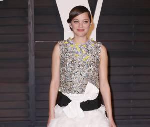Marion Cotillard à l'after party des Oscars 2015 organisée par Vanity Fair le 22 février