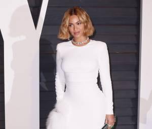 Beyoncé à l'after party des Oscars 2015 organisée par Vanity Fair le 22 février