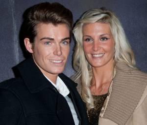 Geoffrey Crousillat et son ex Marie Garet sur une photo