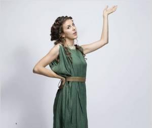 Peplum : Nicole Ferroni est la femme de Bravius